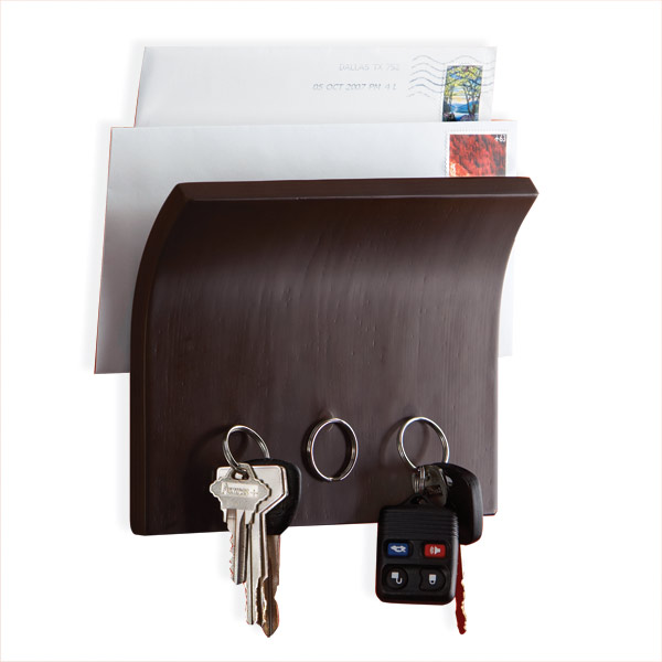 Umbra® Magnetter Key & Letter Holder Espresso