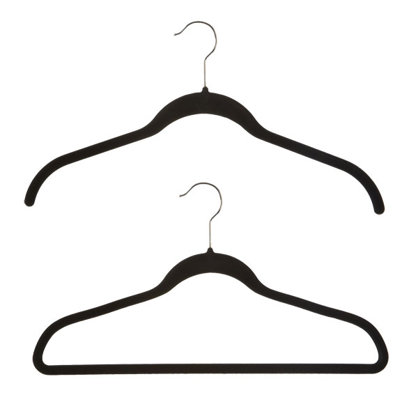 Huggable Hangers® Value Pack Black