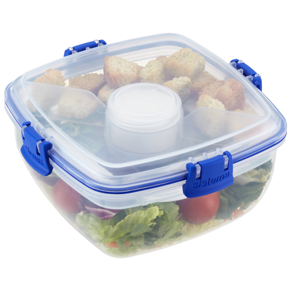 37 oz. Klip-It® Salad To Go Clear 1.1 ltr.