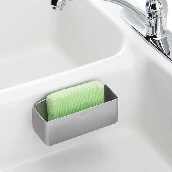 SteeL™Suction Sink Basket Silver