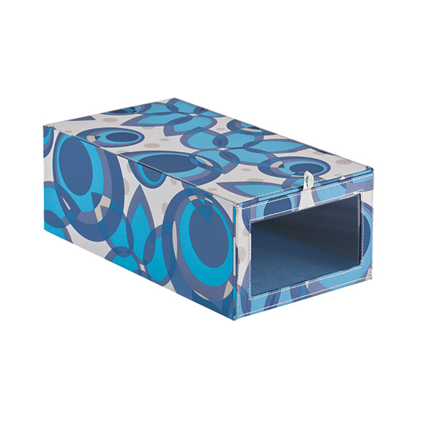 Drop-Front Shoe Box Como