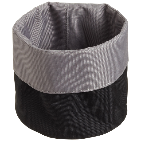 reisenthel® Cuffed Fabric Bin Black/Grey