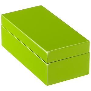 X-Small Lacquered Rectangular Box Green