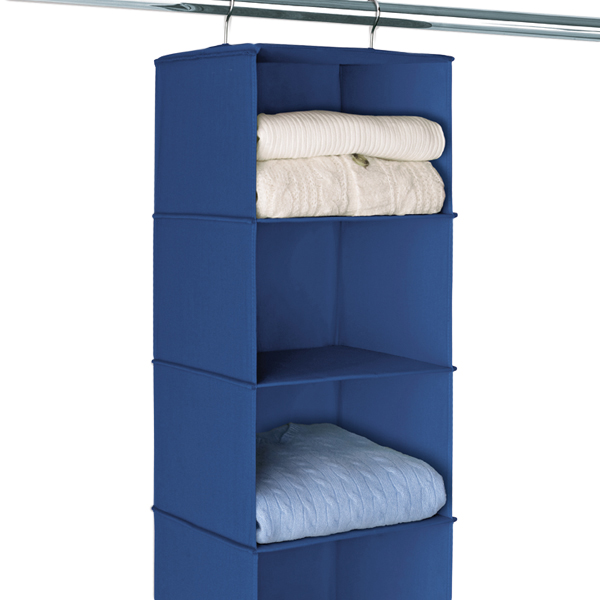 Indigo 6 Compartment Hanging Sweater Organizer The Container Store
