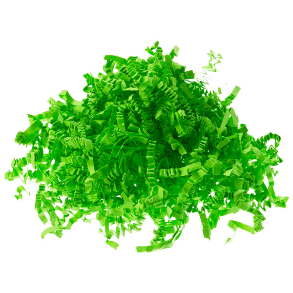 3 oz. Crinkle Cut Paper Shred Lime
