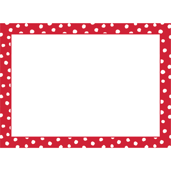 Small Dot Adhesive Gift Labels Red Pkg/12