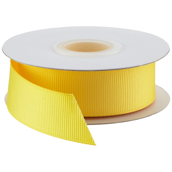 Grosgrain Ribbon Maize