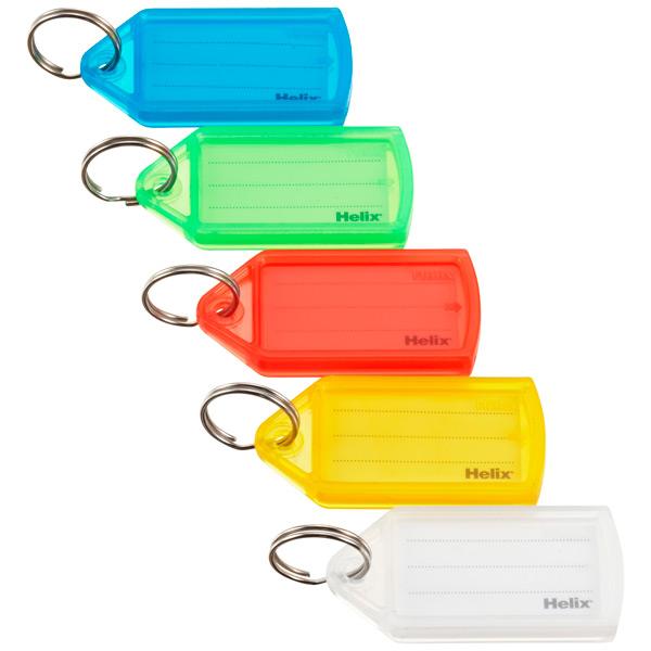 Key Tags Assorted Pkg/10