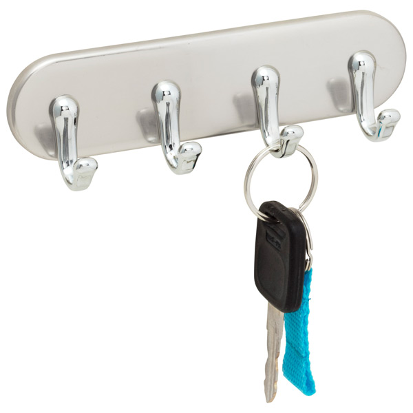 Stainless Steel York Magnetic Key Rack