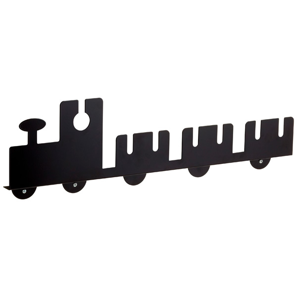Tut-Tut Hook Shelf Black