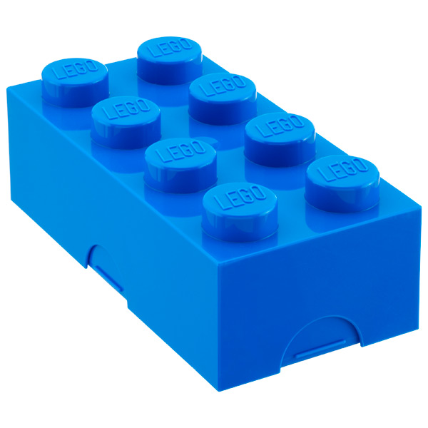 Large LEGO® Box Blue