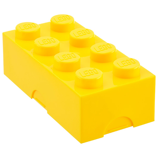 Large LEGO® Box Yellow