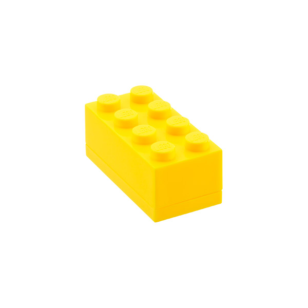 Small LEGO® Box Yellow