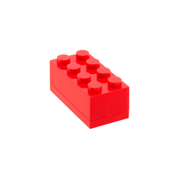 Small LEGO® Box Red
