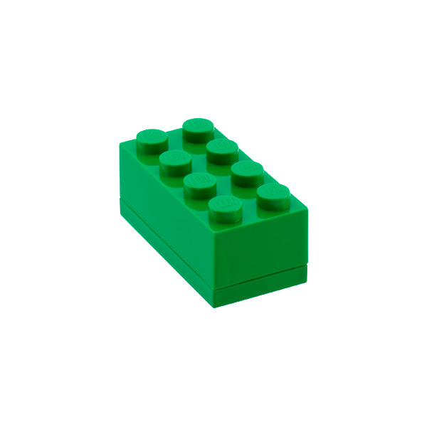 Small LEGO® Box Green