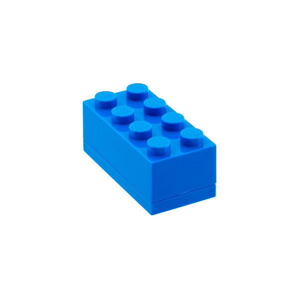 Small LEGO® Box Blue