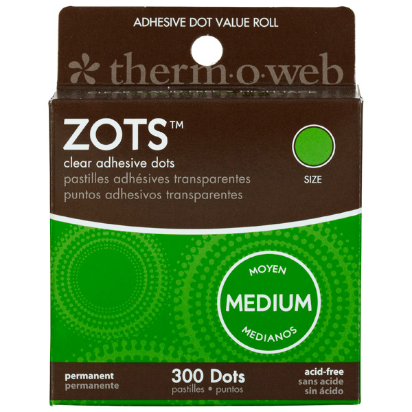 Zots™ Archival Adhesive Flat Dots