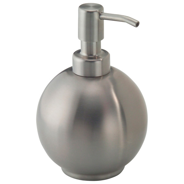 16 oz. Forma Round Pump Dispenser Stainless