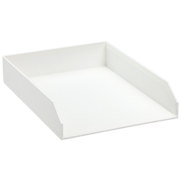 Bigso™ Stockholm Stacking Letter Tray White