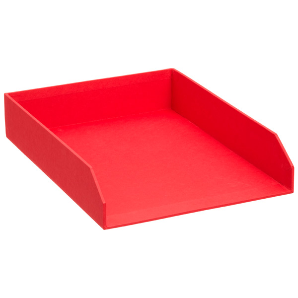 Bigso™ Stockholm Stacking Letter Tray Red