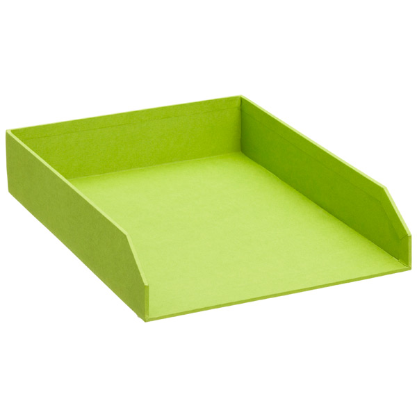 Bigso™ Stockholm Stacking Letter Tray Green