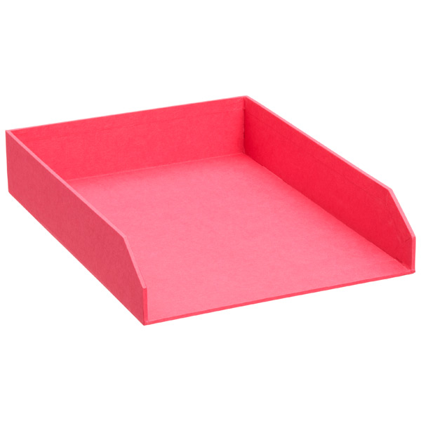 Bigso™ Stockholm Stacking Letter Tray Pink