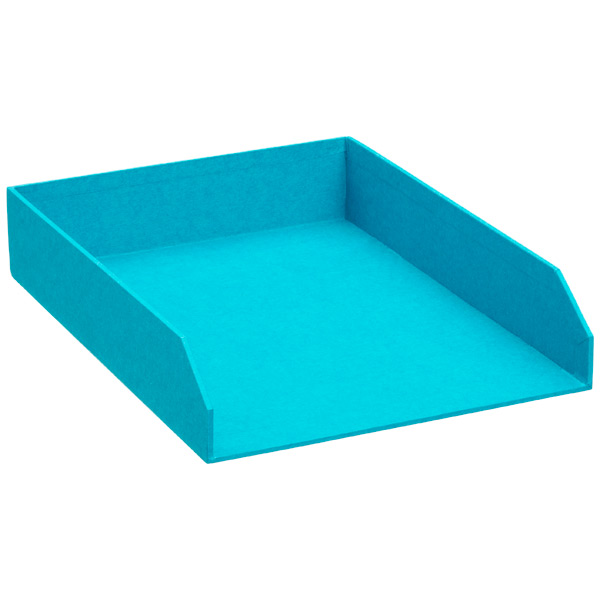 Bigso™ Stockholm Stacking Letter Tray Turquoise