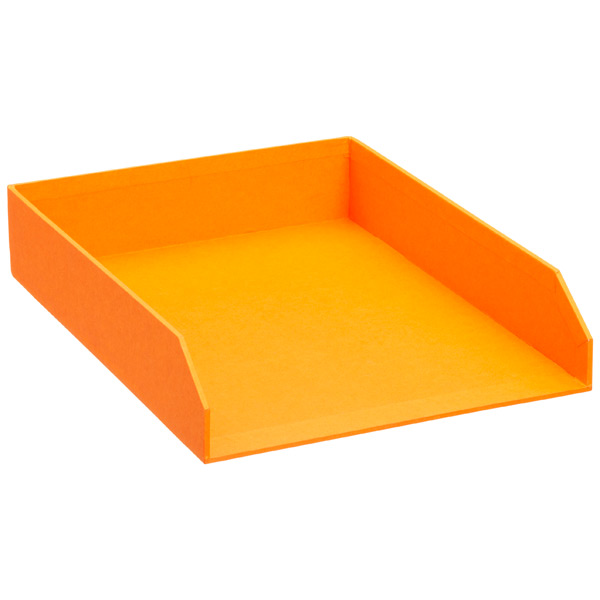Bigso™ Stockholm Stacking Letter Tray Orange