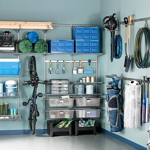 used store fixtures for garages idaho falls ideas - Platinum elfa utility Garage Solution