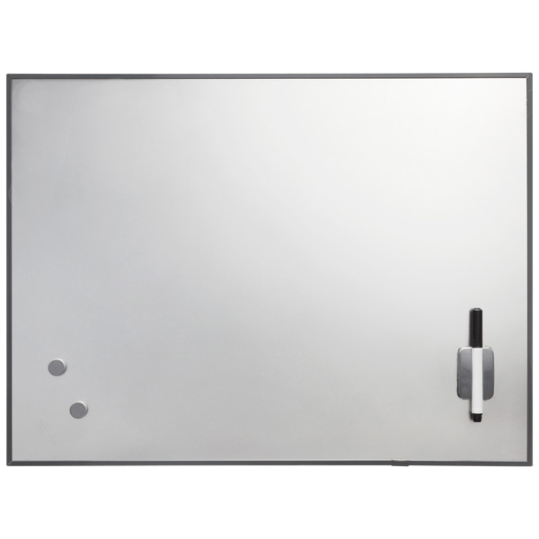 Rectangular Magnetic Dry Erase Board Stainless