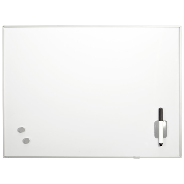 Rectangular Magnetic Dry Erase Board White