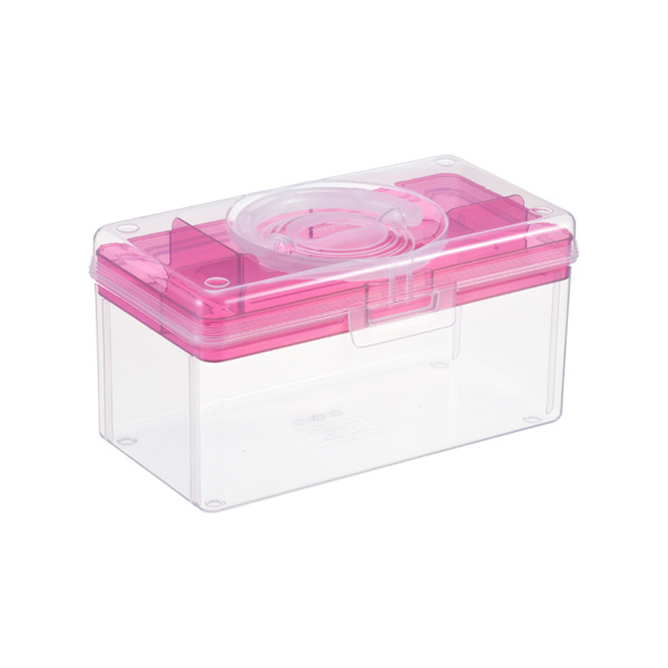 Mini Hobby Box with Pink Tray