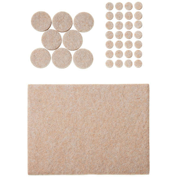 Assorted Heavy Duty Felt Pads
