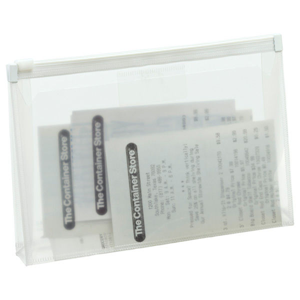 Clear Zippered Envelope