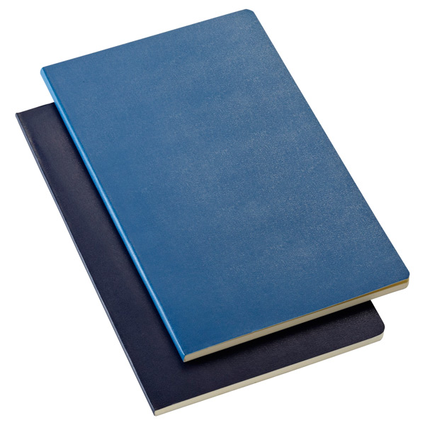 Large Moleskine® Volant Notebooks Blue Pkg/2
