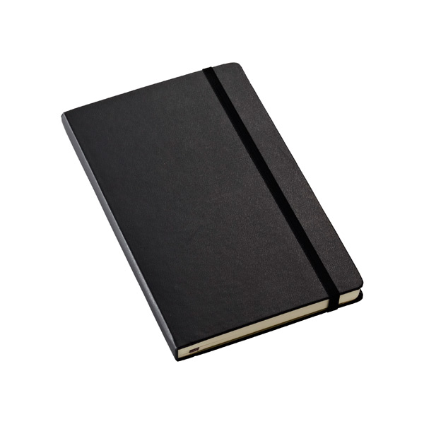 Large Moleskine® Ruled Notebook Black