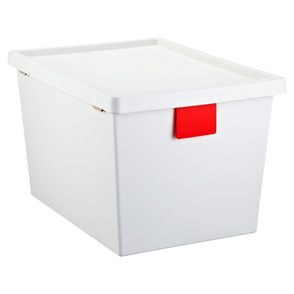 13.2 gal. TAGstore™ w/ Wheels White/Red