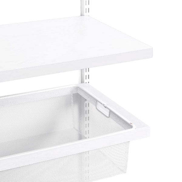White elfa décor Shelves