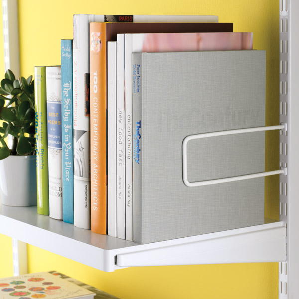 White Elfa Decor Shelves The Container Store