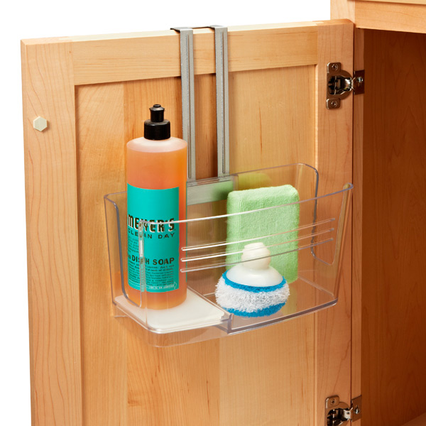 under sink storage the container store. Black Bedroom Furniture Sets. Home Design Ideas