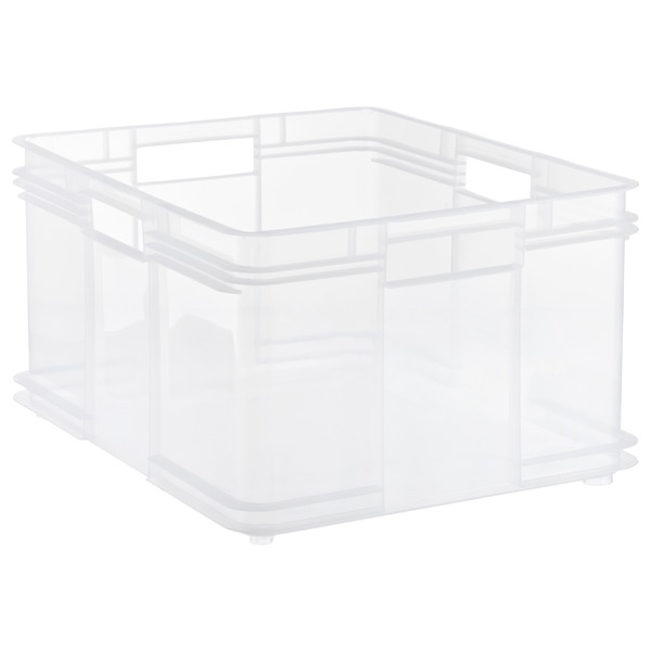 X-Large European Commercial Crate Translucent