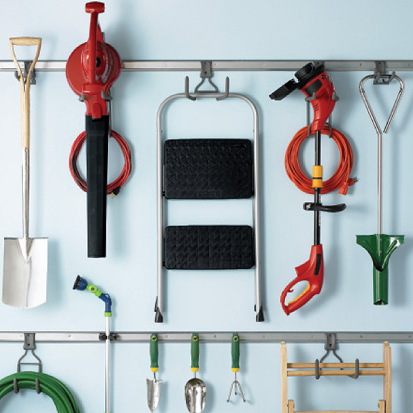Grey Elfa Utility Accessory Hooks The Container Store