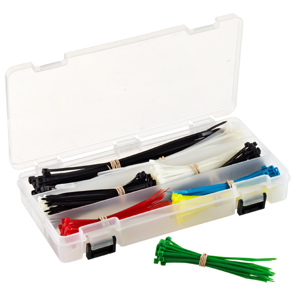 Cable Tie Kit Assorted Pkg/300