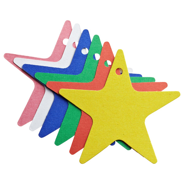 Tag-It Gift Tags Assorted Stars Pkg/6