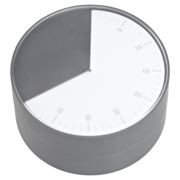 Pie™ 60-Minute Kitchen Timer Grey