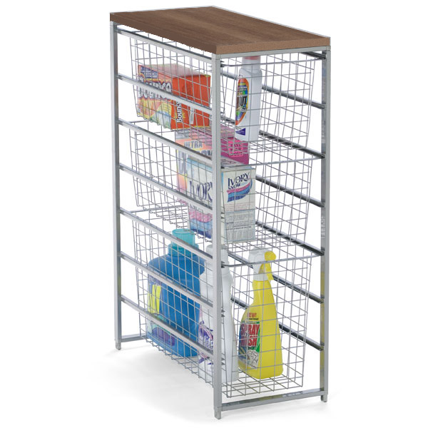 elfa Laundry Storage Platinum