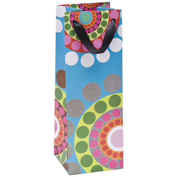 Dial Dots Bottle Tote