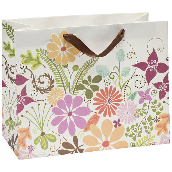 Large Floral Terrain Tote