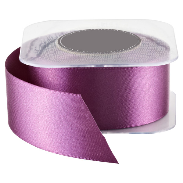 Double Satin Ribbon Beet