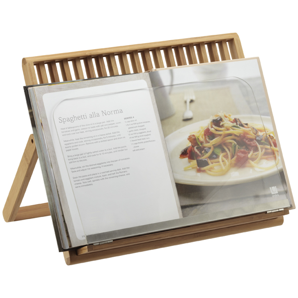Umbra® Cook-A-Boo Cookbook Holder Bamboo